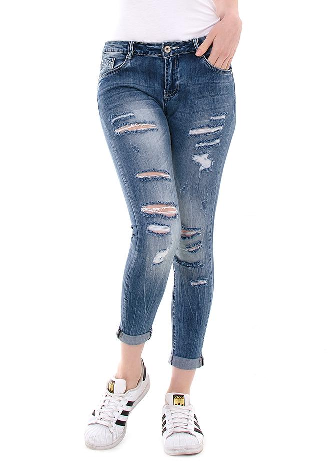 Γυναικείο Jean Kiss αρχική γυναικεία ρούχα παντελόνια