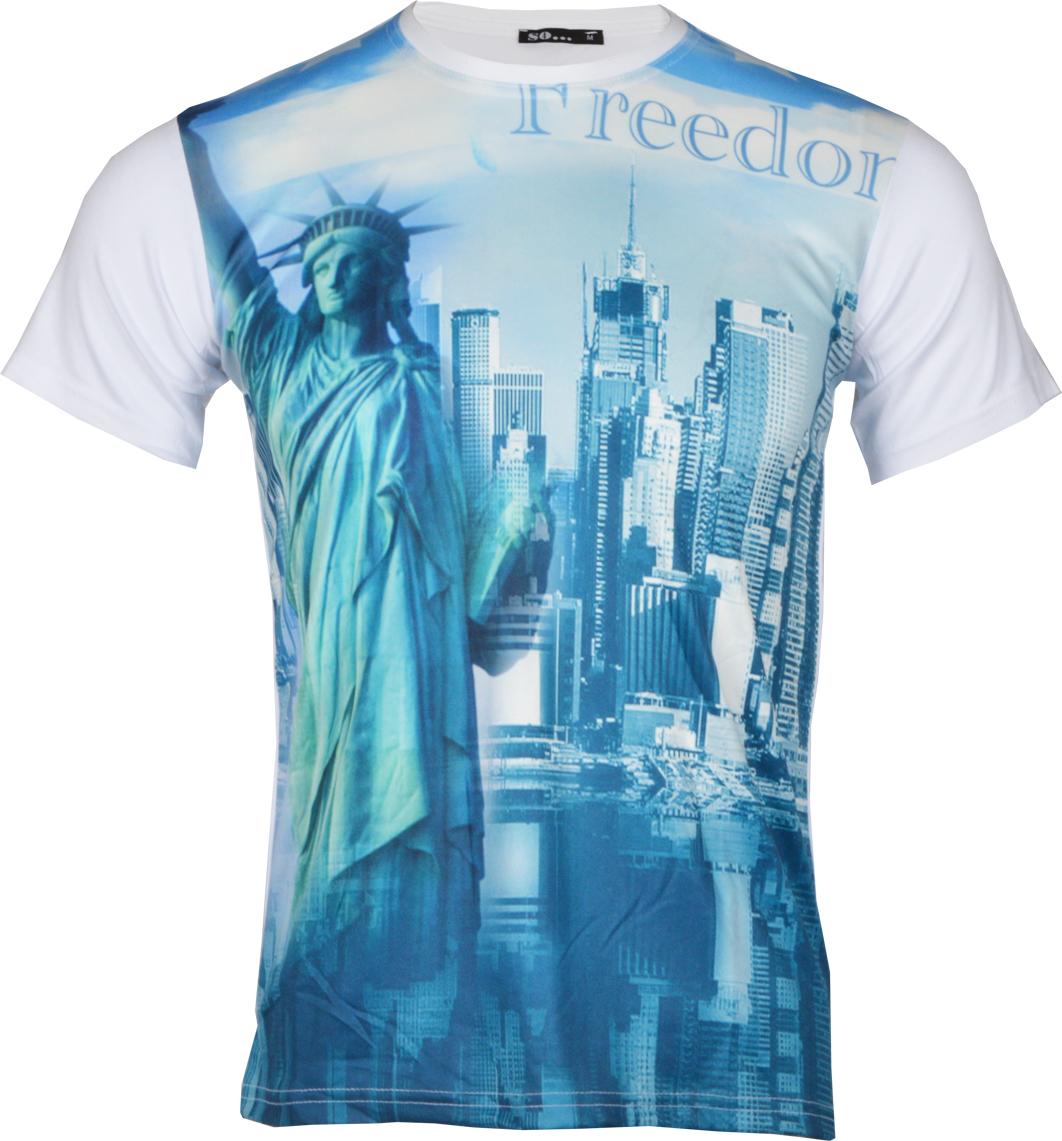 Ανδρικό T-Shirt Freedom αρχική ανδρικά ρούχα επιλογή ανά προϊόν t shirts