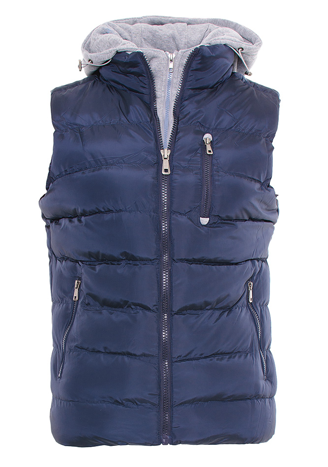 Aνδρικό Mπουφάν Simple D.Blue Zip αρχική ανδρικά ρούχα μπουφάν