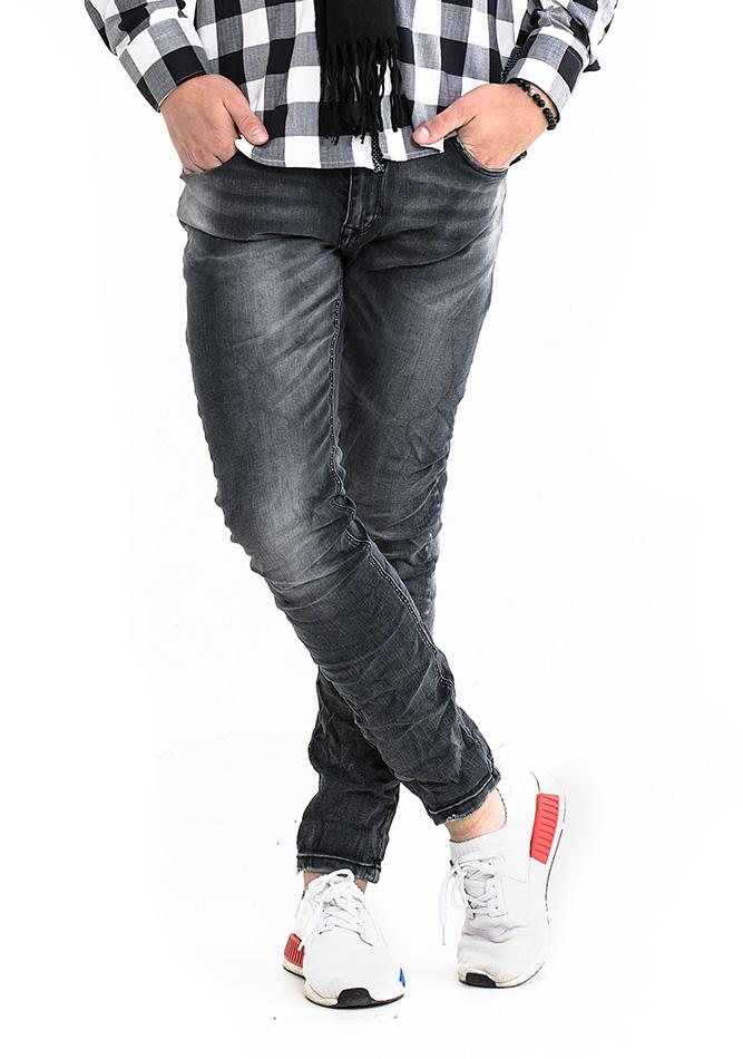 Ανδρικό Jean Fashion Grey αρχική ανδρικά ρούχα επιλογή ανά προϊόν παντελόνια παντελόνια jeans