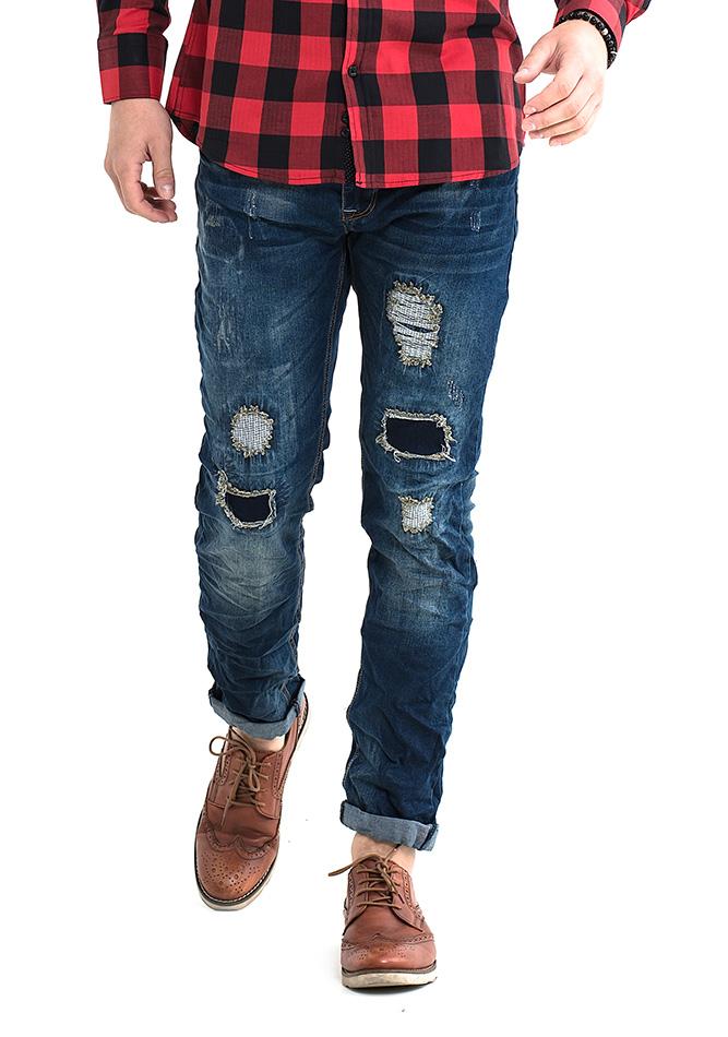 Ανδρικό Jean Premium Wear αρχική ανδρικά ρούχα επιλογή ανά προϊόν παντελόνια παντελόνια jeans