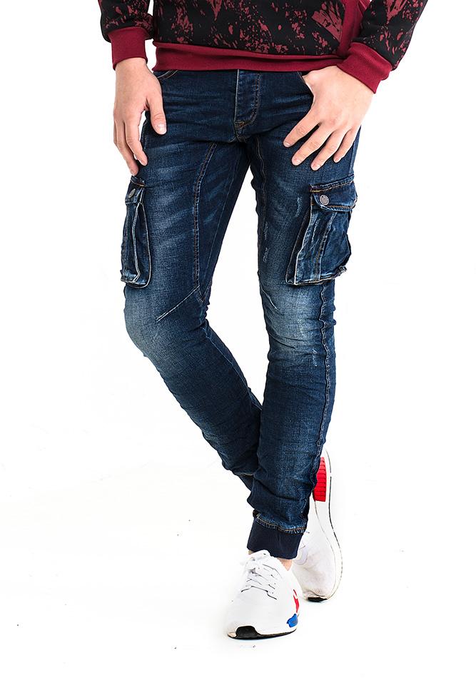 Ανδρικό Jean Fabric Blue αρχική ανδρικά ρούχα επιλογή ανά προϊόν παντελόνια παντελόνια jeans
