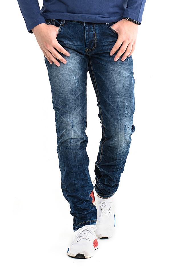 Ανδρικό Jean Y.Two Splash αρχική ανδρικά ρούχα επιλογή ανά προϊόν παντελόνια παντελόνια jeans