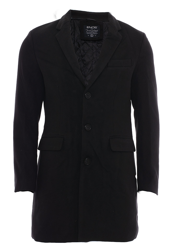 Ανδρικό Παλτό Desert Black αρχική ανδρικά ρούχα