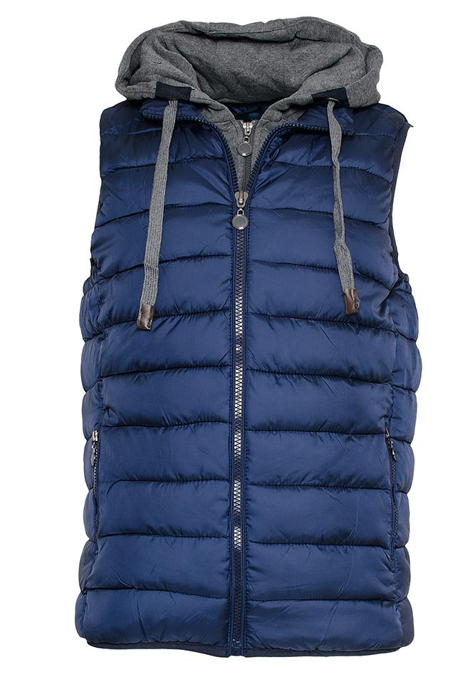 Αμάνικο Μπουφάν Simple D.Blue αρχική ανδρικά ρούχα μπουφάν