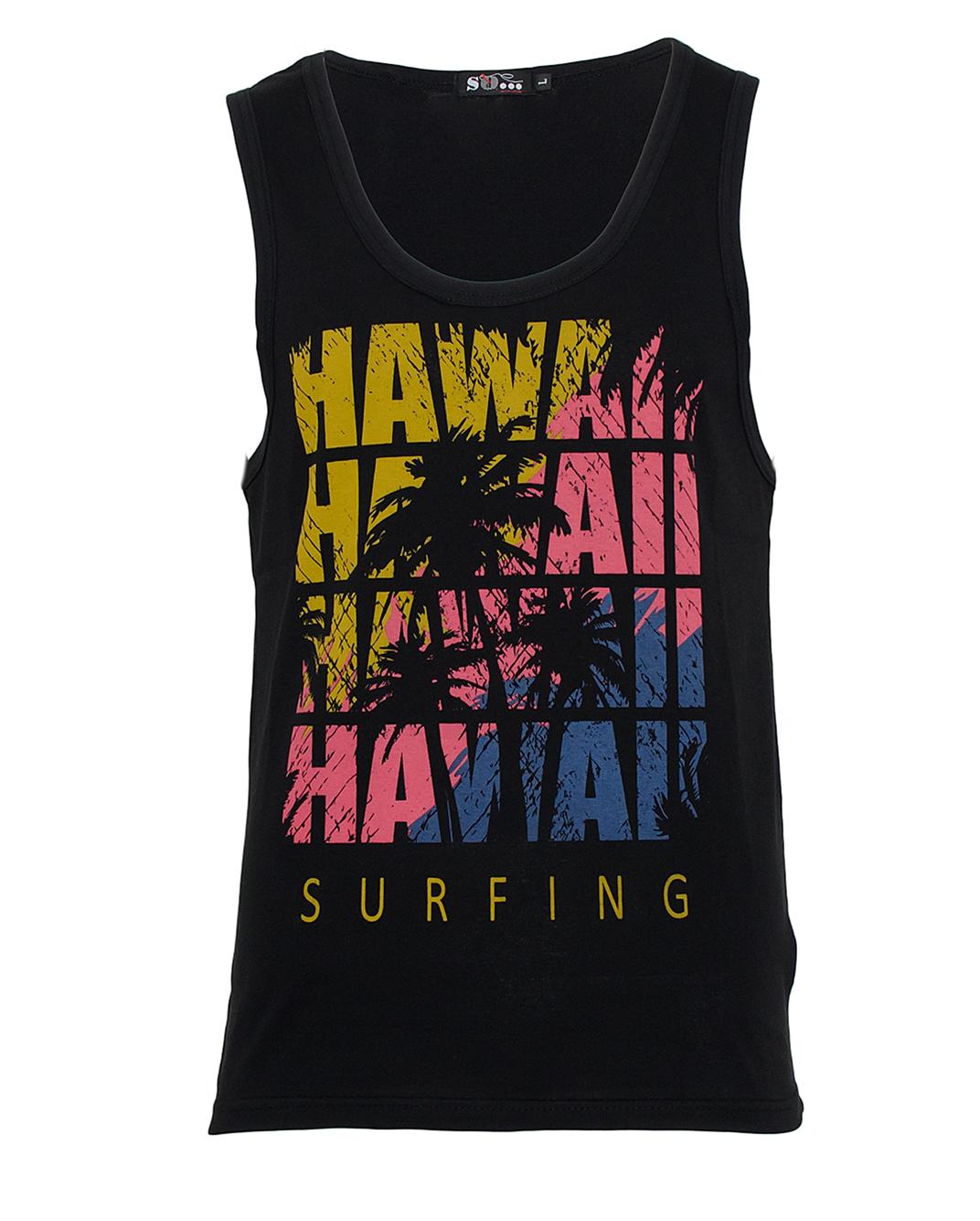 Ανδρικό Αμάνικο Hawai-Μαύρο αρχική ανδρικά ρούχα επιλογή ανά προϊόν t shirts