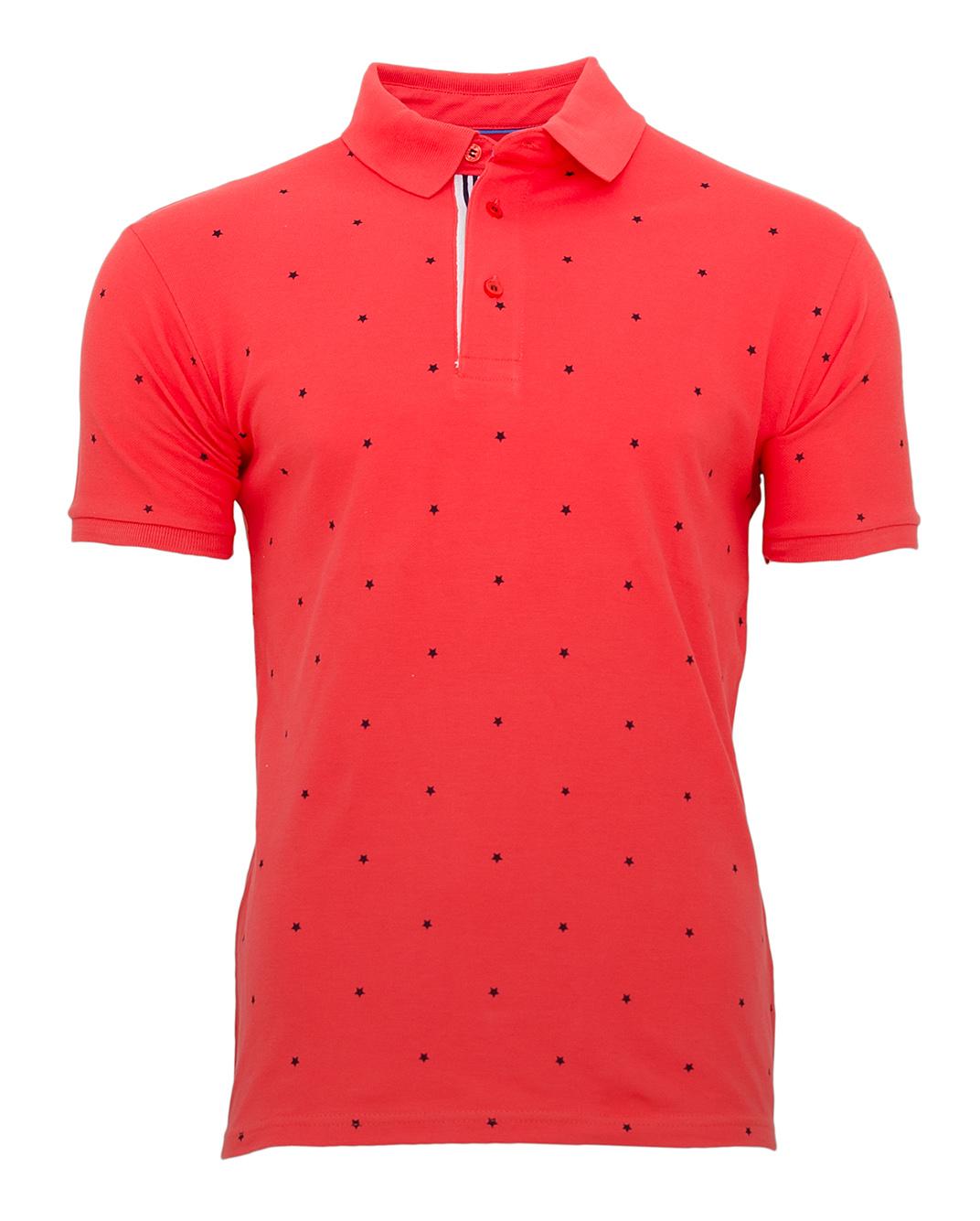 Ανδρικό Polo Zen Stars-Κοραλί αρχική ανδρικά ρούχα polo