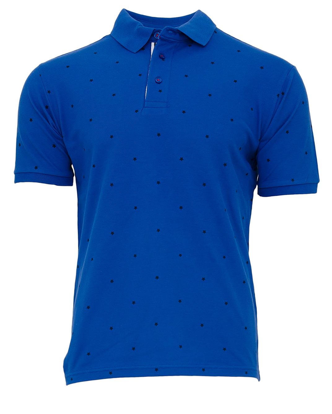 Ανδρικό Polo Zen Stars-Μπλε αρχική ανδρικά ρούχα polo