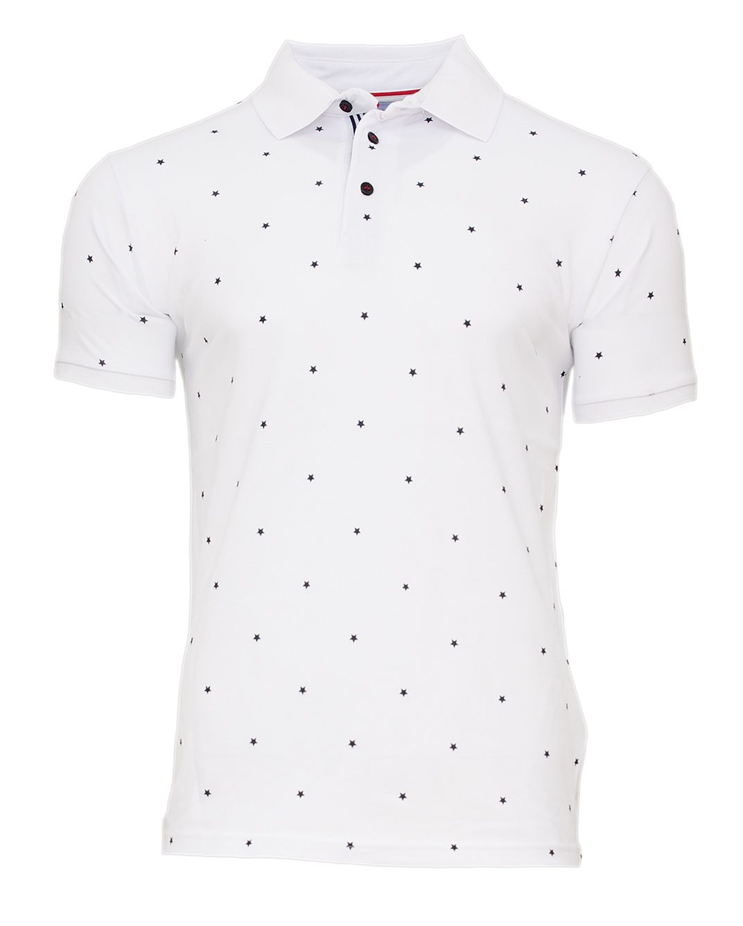 Ανδρικό Polo Zen Stars-Άσπρο αρχική ανδρικά ρούχα polo