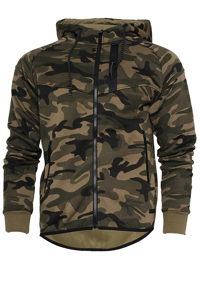 Ζακέτα Παραλλαγής Army Life Κhaki αρχική ανδρικά ρούχα ζακέτες