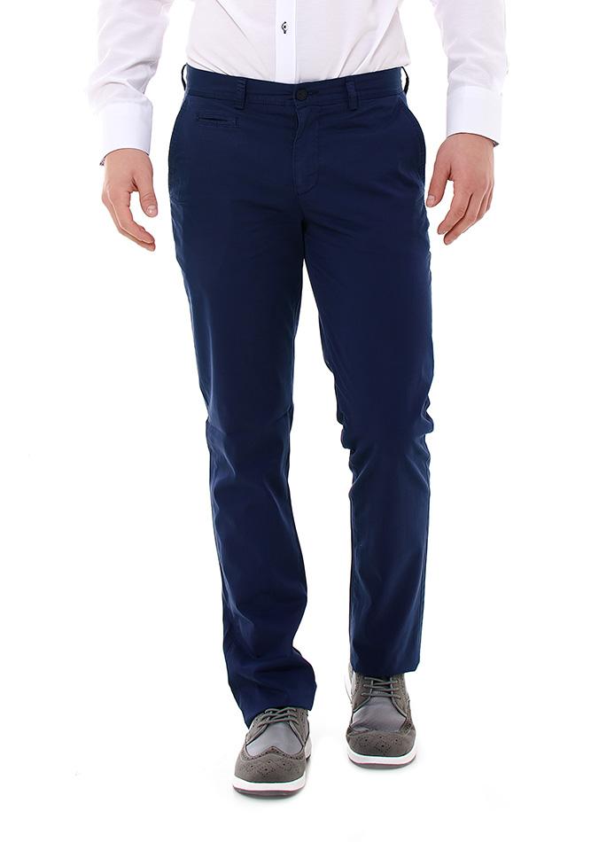 Ανδρικό Chino Παντελόνι Zen Blue αρχική ανδρικά ρούχα επιλογή ανά προϊόν παντελόνια παντελόνια chinos