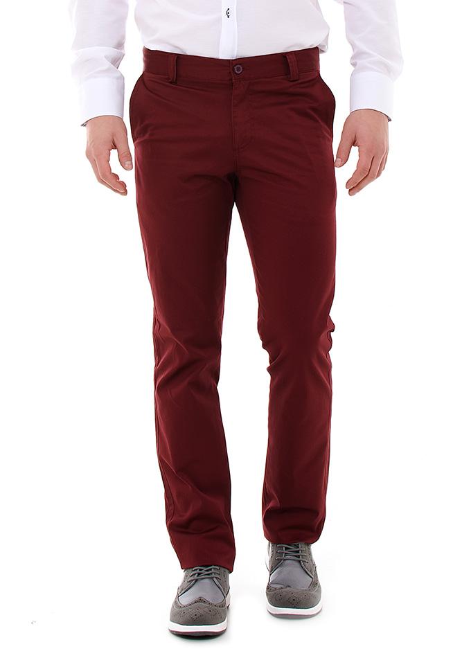 Ανδρικό Chino Παντελόνι Zen Bordeaux αρχική ανδρικά ρούχα επιλογή ανά προϊόν παντελόνια παντελόνια chinos