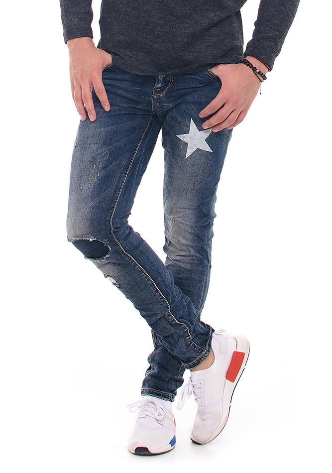 Ανδρικό Jean Blue Star αρχική ανδρικά ρούχα επιλογή ανά προϊόν παντελόνια παντελόνια jeans