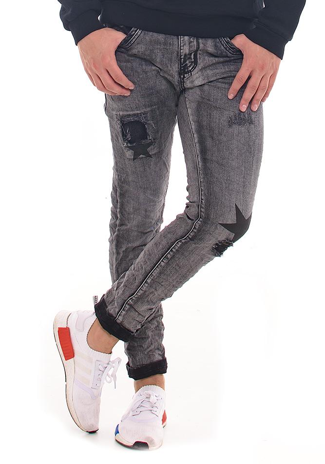 Ανδρικό Jean Black Star αρχική ανδρικά ρούχα επιλογή ανά προϊόν παντελόνια παντελόνια jeans