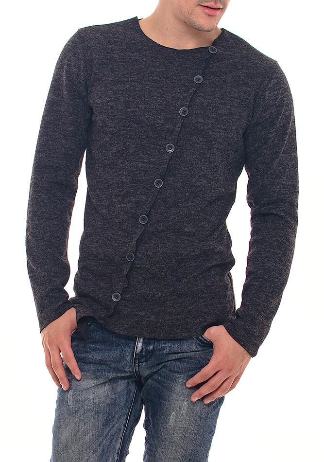 Ανδρική Μπλούζα Asymemtry Buttons αρχική ανδρικά ρούχα επιλογή ανά προϊόν μπλούζες