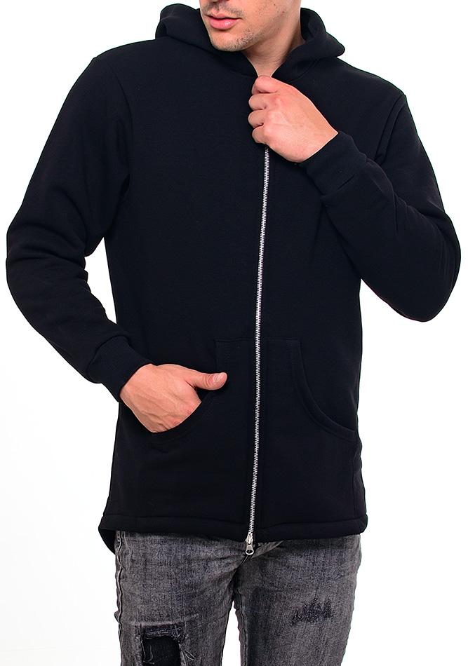 Ανδρική Ζακέτα Zip Silver αρχική ανδρικά ρούχα ζακέτες