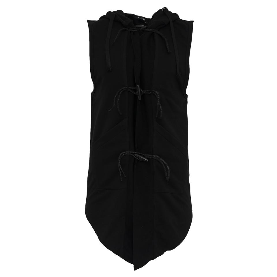 Αμάνικη Ζακέτα Black Mamba-Μαύρο αρχική ανδρικά ρούχα