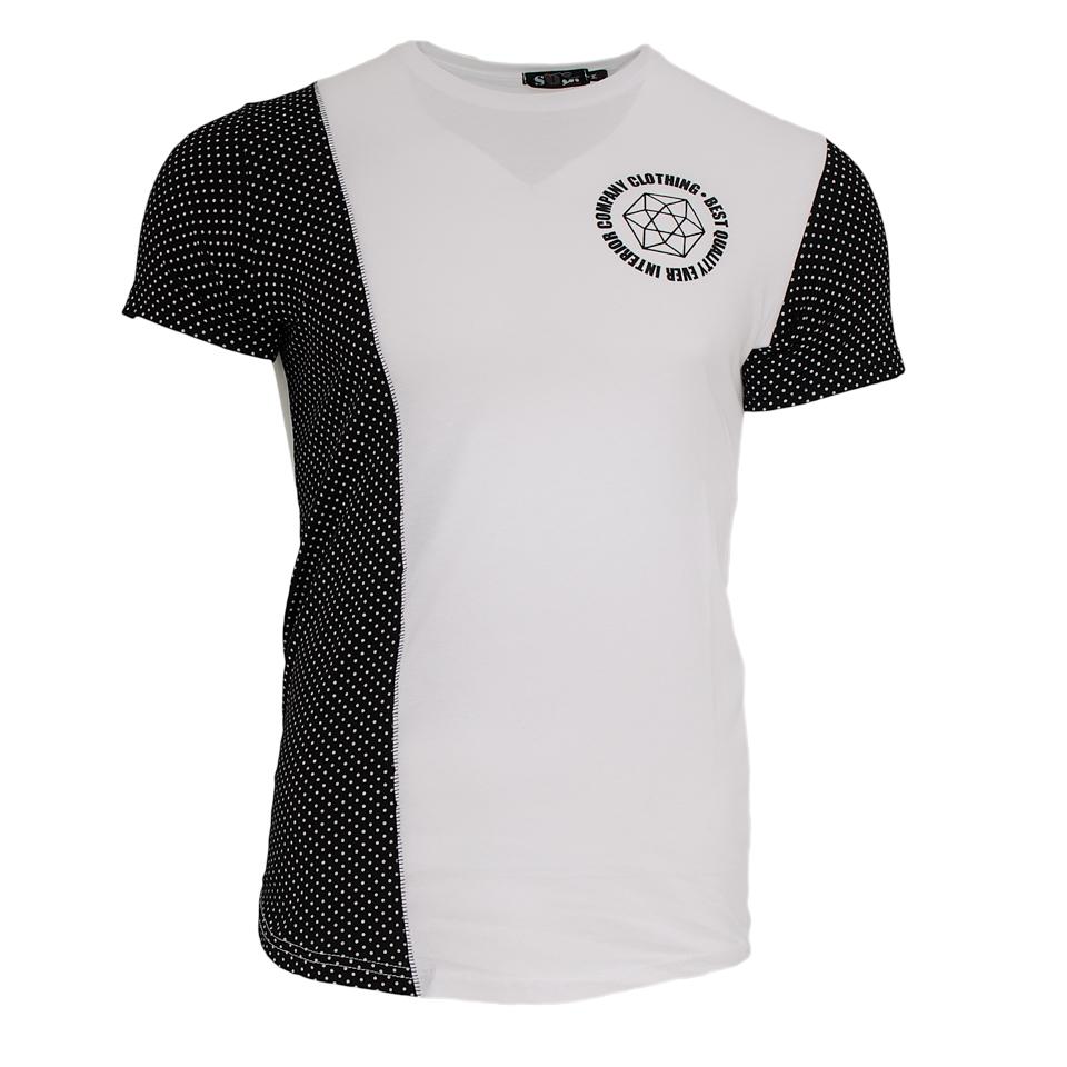 Ανδρικό Τ-shirt Company-Μαύρο αρχική ανδρικά ρούχα επιλογή ανά προϊόν t shirts