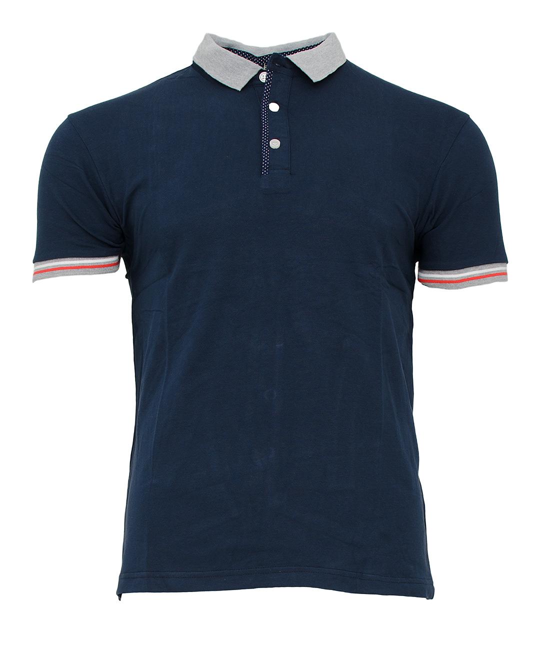 Ανδρικό Polo Poua Rabat-Μπλε Σκούρο αρχική ανδρικά ρούχα polo