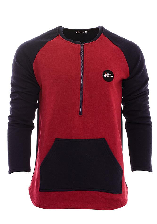 Ανδρική Μπλούζα Black Zip αρχική ανδρικά ρούχα φούτερ