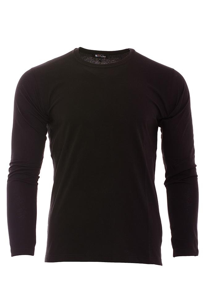 Ανδρική Μπλούζα So Black αρχική ανδρικά ρούχα μπλούζες