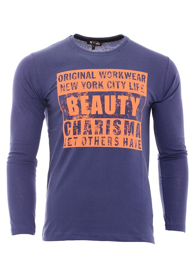 Ανδρική Μπλούζα Beauty Indigo αρχική ανδρικά ρούχα επιλογή ανά προϊόν μπλούζες