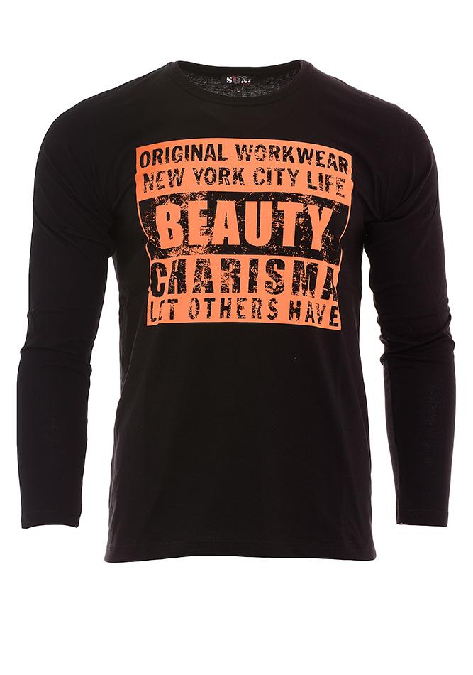 Ανδρική Μπλούζα Beauty Black αρχική ανδρικά ρούχα μπλούζες