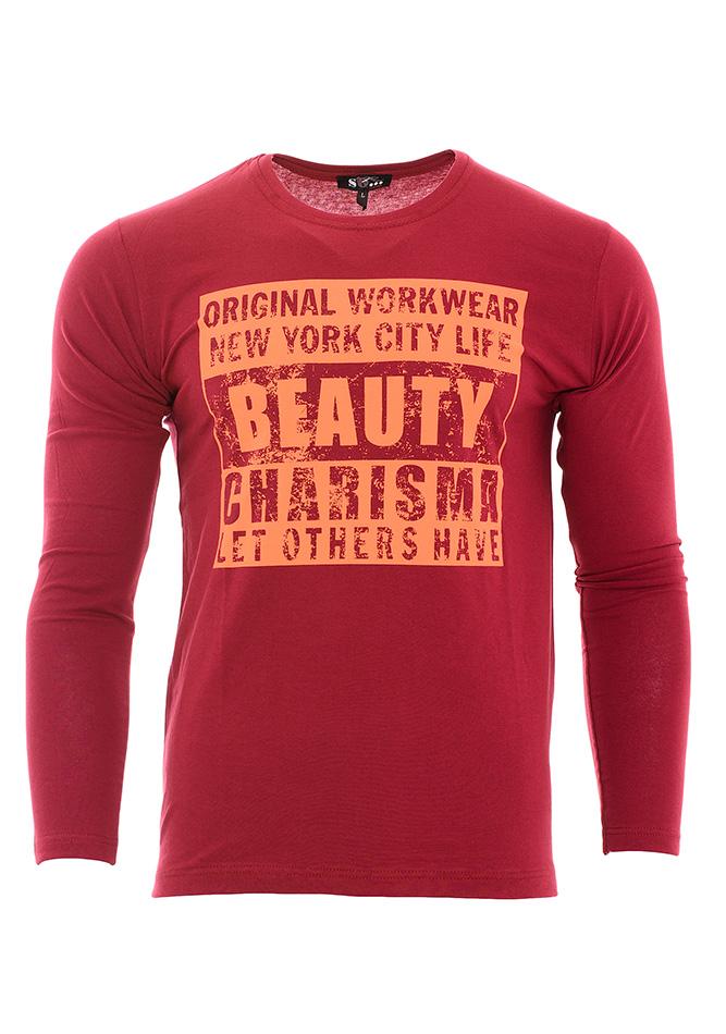 Ανδρική Μπλούζα Beauty Red αρχική ανδρικά ρούχα μπλούζες