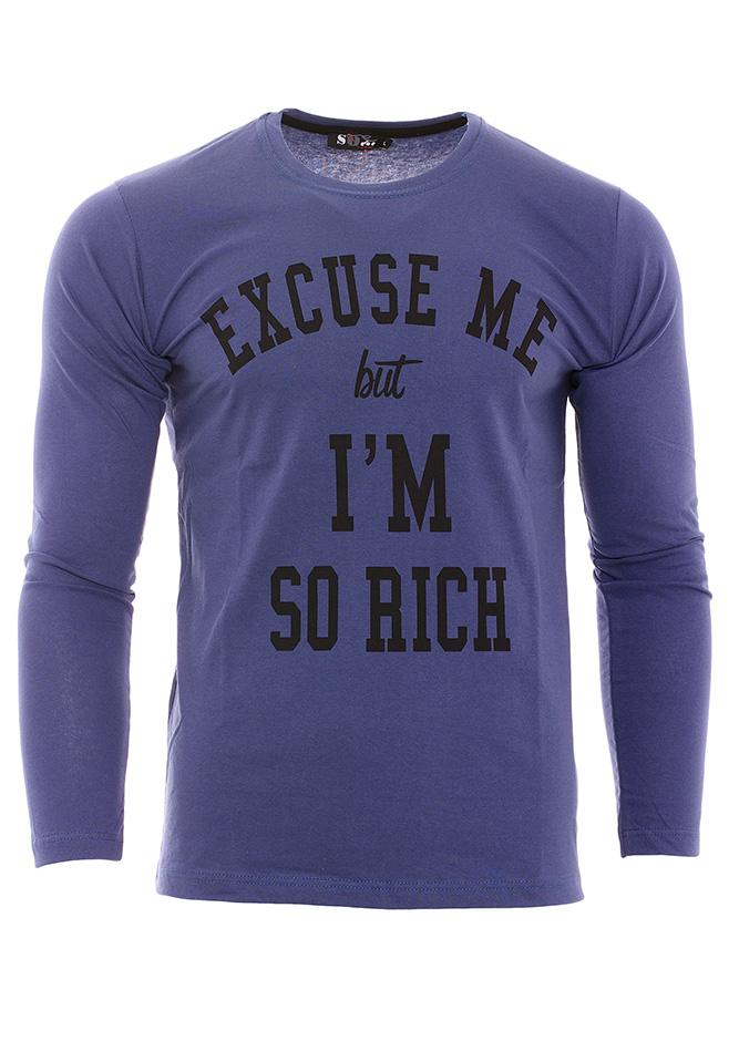 Ανδρική Μπλούζα Rich D.Blue αρχική ανδρικά ρούχα επιλογή ανά προϊόν μπλούζες