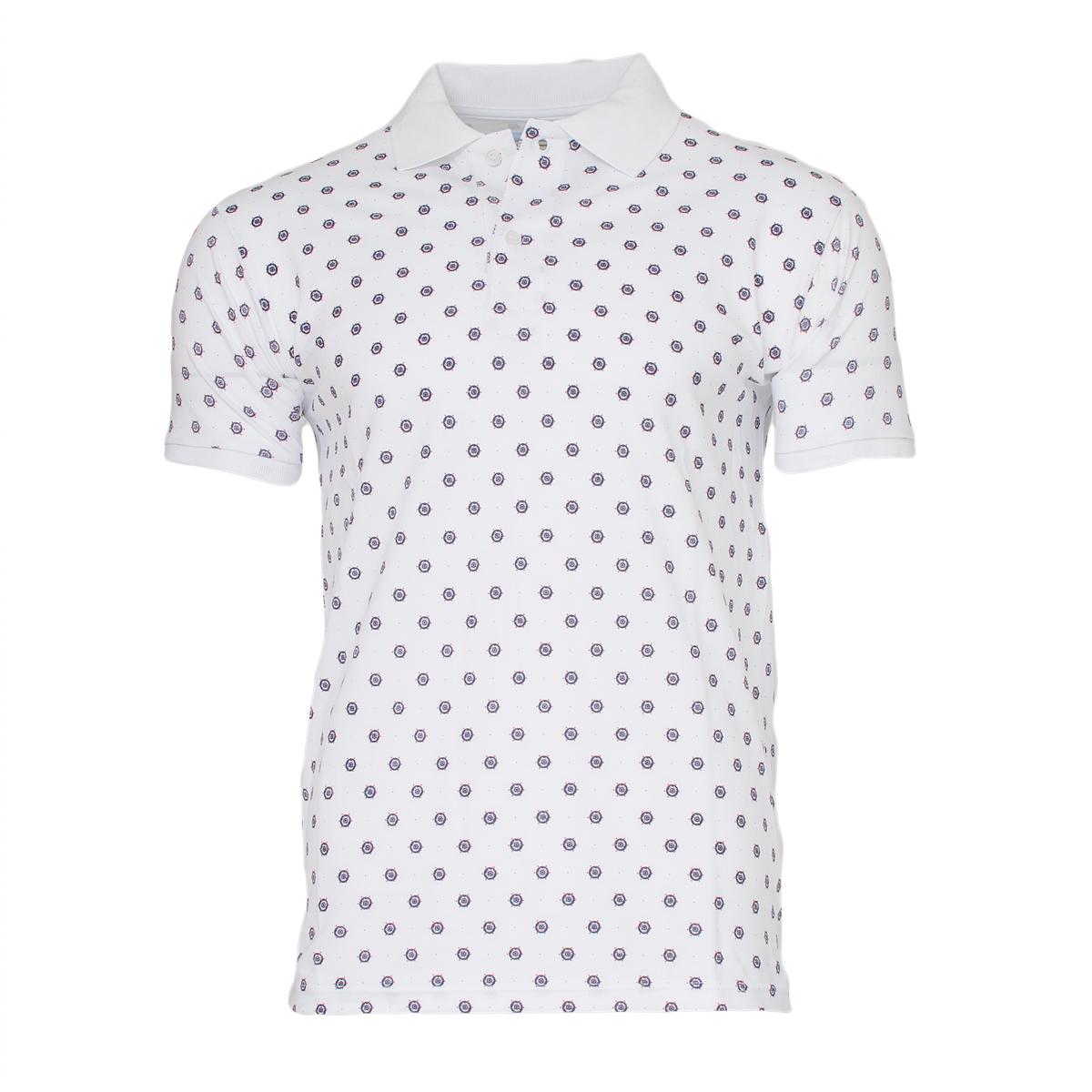 Ανδρικό Polo Zen Rudder-Άσπρο αρχική ανδρικά ρούχα polo
