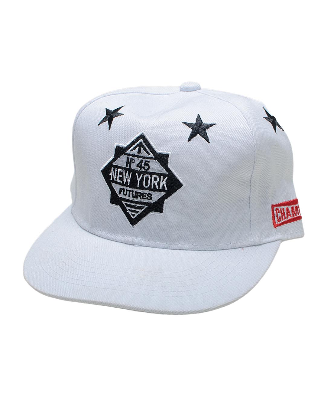 Ανδρικό Καπέλο New York-Άσπρο αρχική αξεσουάρ καπέλα