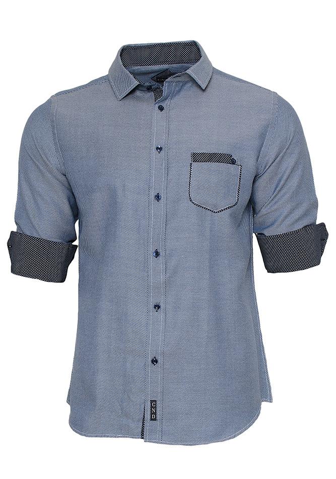 Ανδρικό Πουκάμισο Grey Pocket αρχική ανδρικά ρούχα πουκάμισα