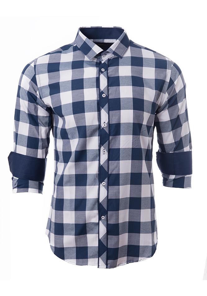Ανδρικό Πουκάμισο CND Blue αρχική ανδρικά ρούχα επιλογή ανά προϊόν πουκάμισα