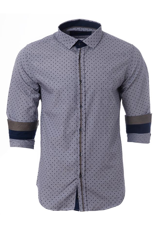 Ανδρικό Πουκάμισο CND Blue Detail αρχική ανδρικά ρούχα πουκάμισα