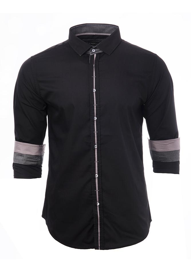 Ανδρικό Πουκάμισο CND Black Wear αρχική ανδρικά ρούχα επιλογή ανά προϊόν πουκάμισα