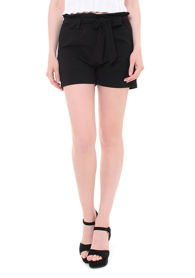 Σορτς Smile Black αρχική γυναικεία ρούχα jumpsuits   σορτς
