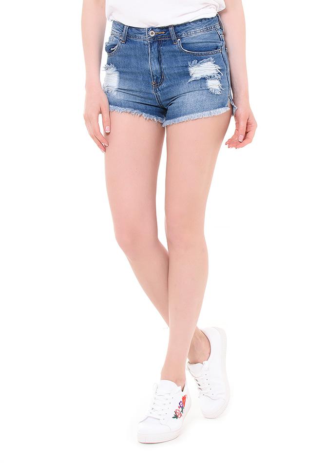 Σορτς Jean Denim αρχική γυναικεία ρούχα jumpsuits   σορτς