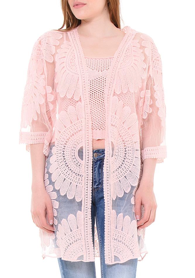Κιμονό Beauty Pink αρχική γυναικεία ρούχα ζακέτες   κιμονό