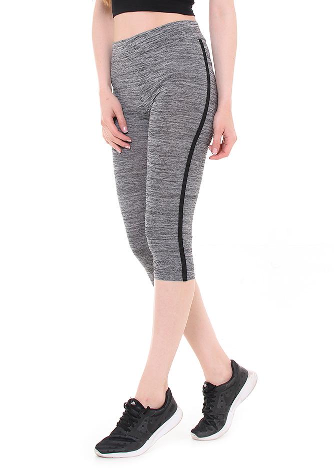 Κολάν Κάπρι Grey αρχική γυναικεία ρούχα κολάν