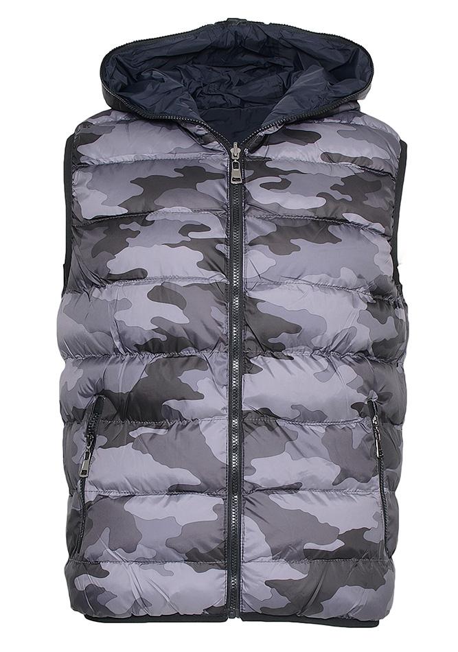 Ανδρικό Μπουφάν Army Grey Blue αρχική ανδρικά ρούχα επιλογή ανά προϊόν μπουφάν