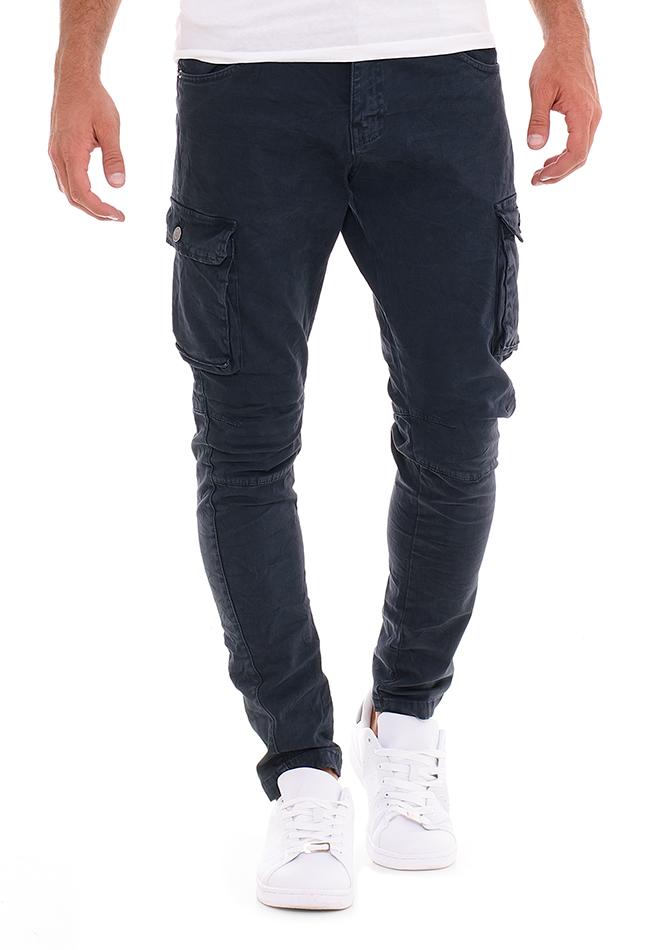 Ανδρικό Chino Παντελόνι Overall D.Blue αρχική ανδρικά ρούχα επιλογή ανά προϊόν παντελόνια παντελόνια chinos