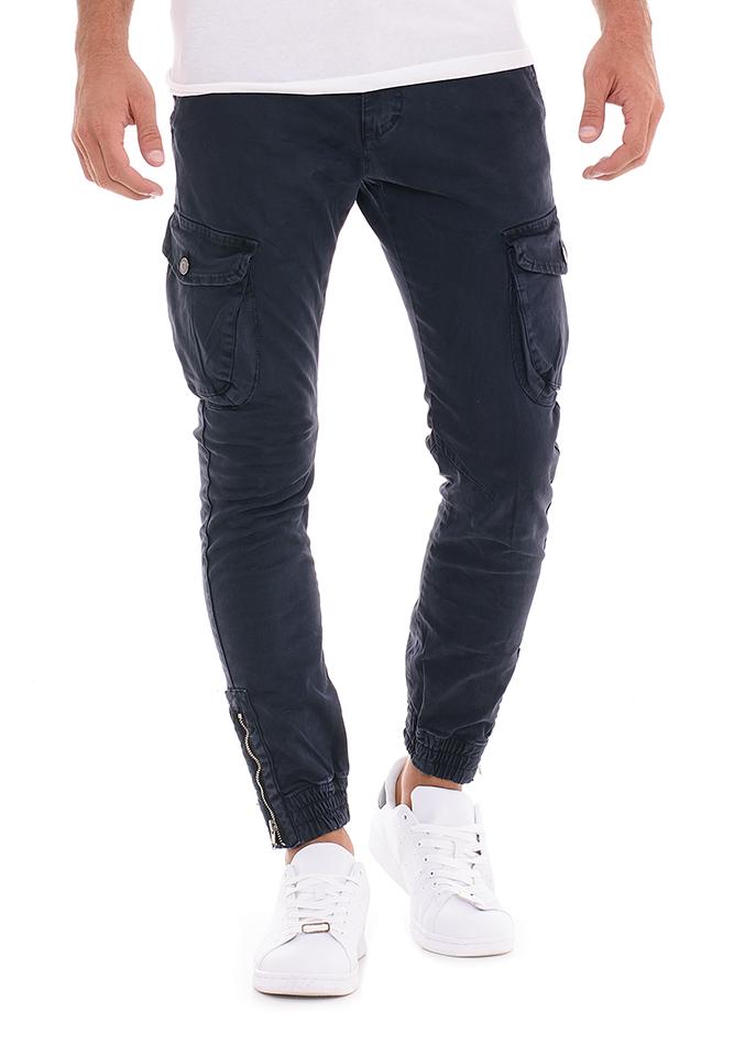 Ανδρικό Chino Παντελόνι Piece D.Blue αρχική ανδρικά ρούχα επιλογή ανά προϊόν παντελόνια παντελόνια chinos
