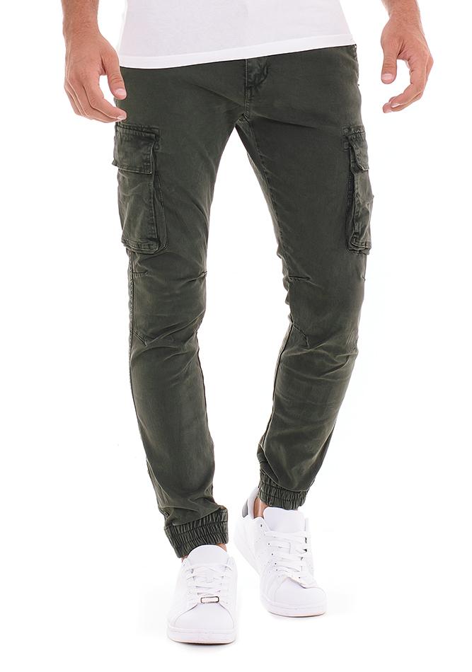 Ανδρικό Chino Παντελόνι Expect Olive Green αρχική ανδρικά ρούχα επιλογή ανά προϊόν παντελόνια παντελόνια chinos