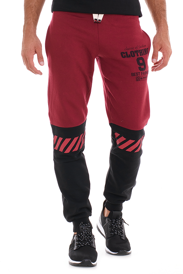 Ανδρική Φόρμα Clothing Bordeaux αρχική άντρας παντελόνια φόρμες