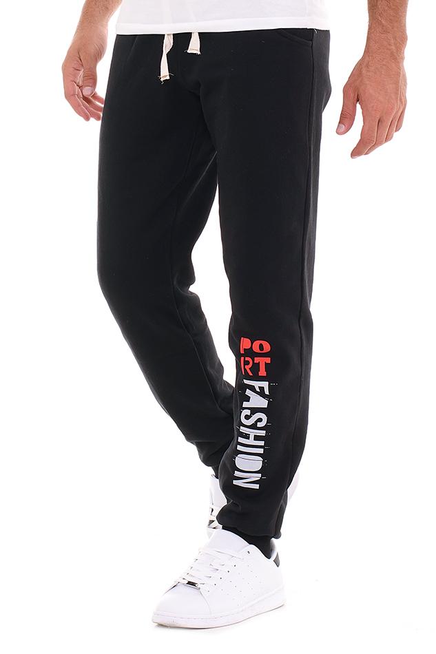 Ανδρική Φόρμα Fashion Black αρχική άντρας παντελόνια φόρμες