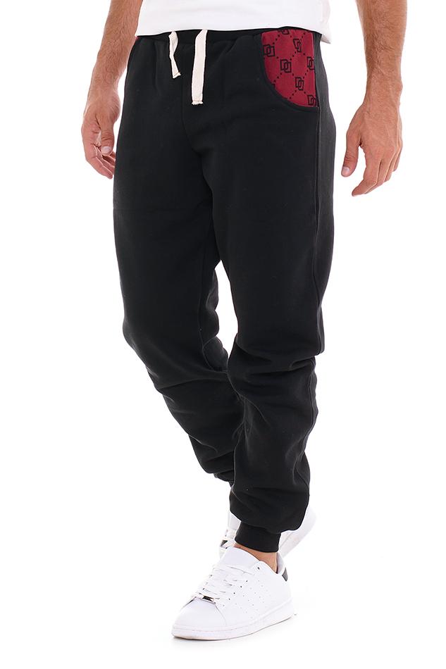 Ανδρική Φόρμα Squares Black αρχική ανδρικά ρούχα επιλογή ανά προϊόν φόρμες