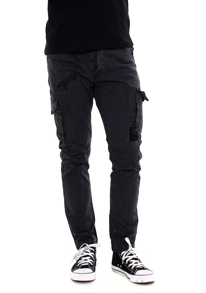 Ανδρικό Chino Παντελόνι Enos D.Grey Pockets αρχική άντρας παντελόνια chinos   cargos