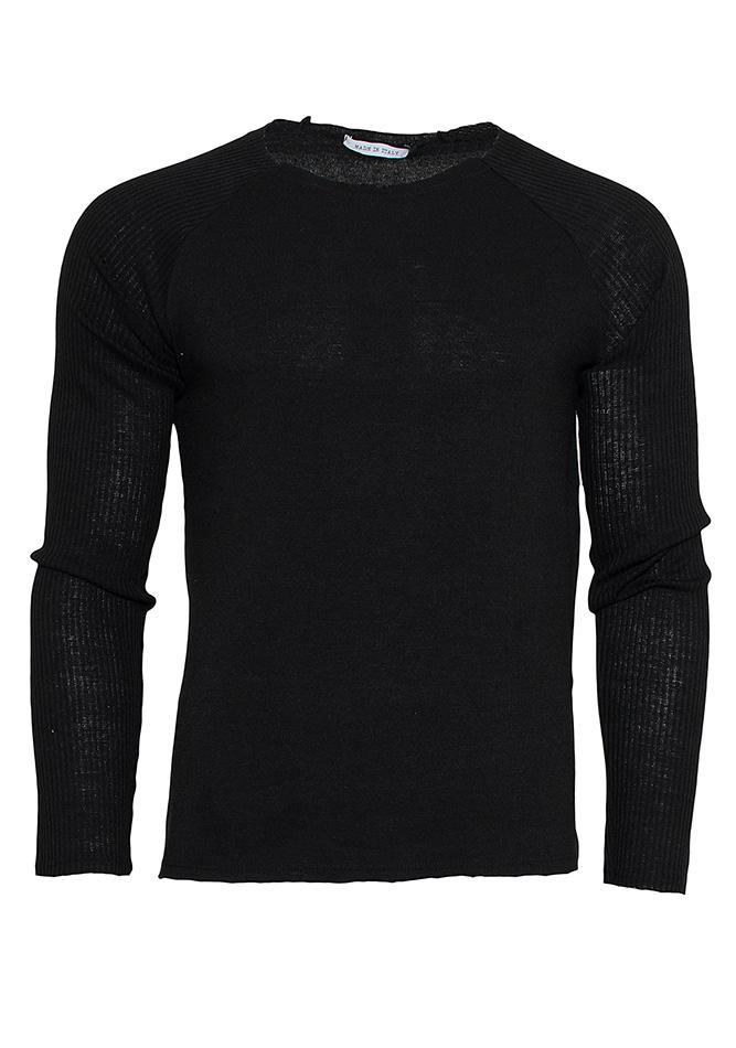 Μπλούζα Casual Black αρχική ανδρικά ρούχα μπλούζες