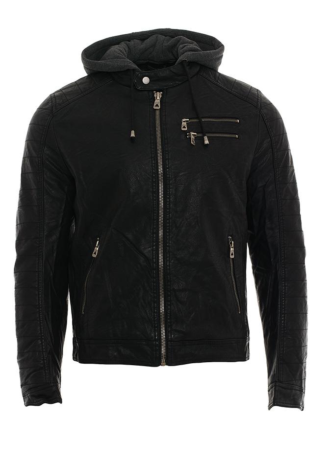 Ανδρικό Μπουφάν Δερματίνη Enos Zippers αρχική ανδρικά ρούχα επιλογή ανά προϊόν μπουφάν