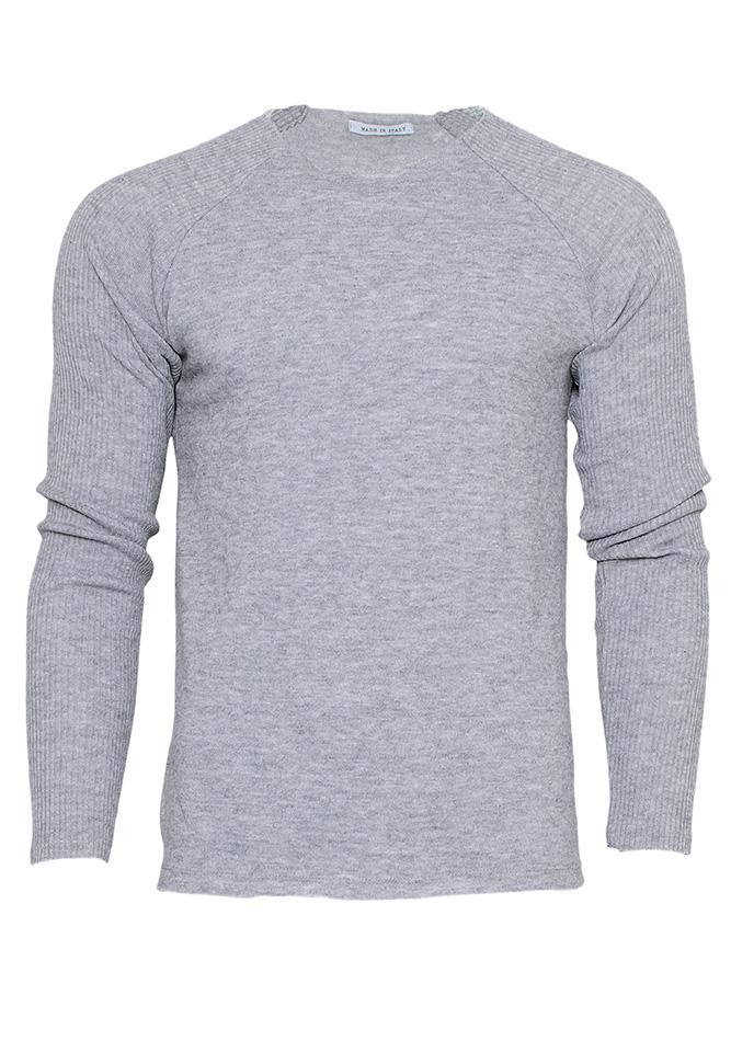 Μπλούζα Casual Grey αρχική ανδρικά ρούχα μπλούζες